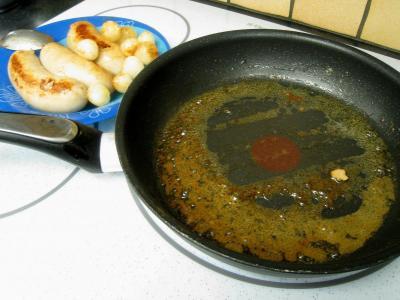 Boudins blancs aux champignons noirs et aux chiitakes - 7.2