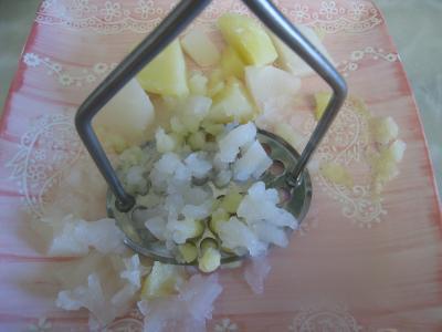 Coquelet au miel et sa purée de navets - 8.1