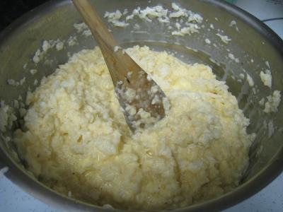 Flans de chou-fleur et sa sauce crémée - 12.1