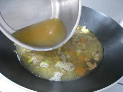 Soupe de crustacés et de lotte - 7.2
