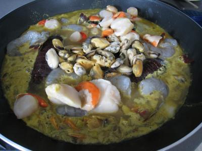 Soupe de crustacés et de lotte - 10.2