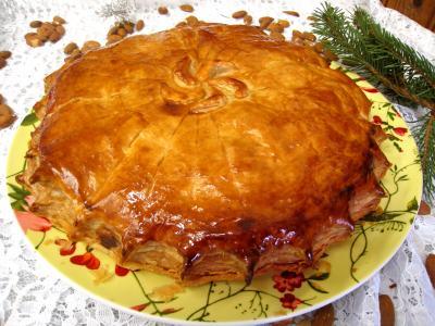 galette : Pithiviers aux pommes