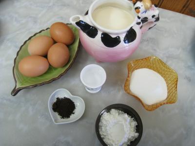 Ingrédients pour la recette : Crème pâtissière
