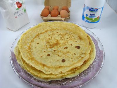 Recettes rapides : Assiette de crpes