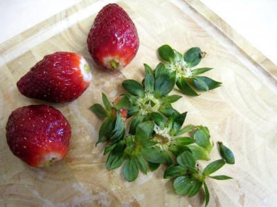 Bananes et fraises chantilly - 1.2