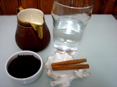 Ingrédients pour la recette : Café au lait à la mexicaine