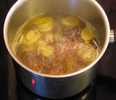 Cocktail au gingembre au parfum de Chine - 4.4