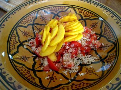 Salade de thon aux pêches - 7.1