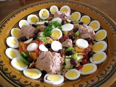 Salade de thon aux pêches - 8.1