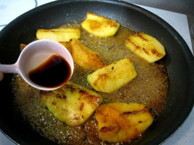 Pommes et poires caramélisées - 5.4