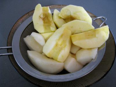 Pommes et poires caramélisées - 3.3