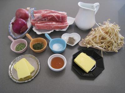 Ingrédients pour la recette : Agneau aux oignons aux saveurs chinoises