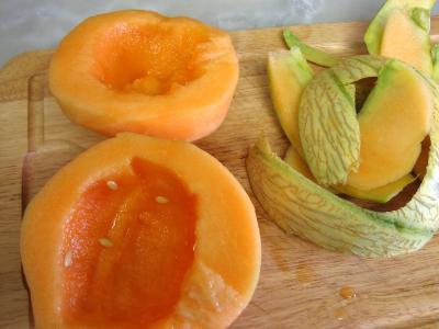 Amuse-bouche au melon et charcuterie - 1.4