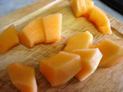 Amuse-bouche au melon et charcuterie - 2.2