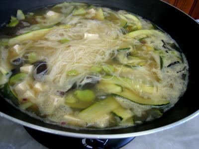 Soupe chinoise au tofu - 12.2