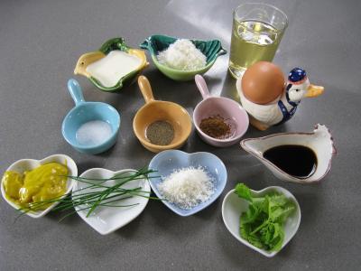 Ingrédients pour la recette : Sauce mayonnaise à la noix de coco