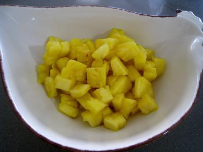 Salade à l'ananas exotique façon Pierrot - 6.2