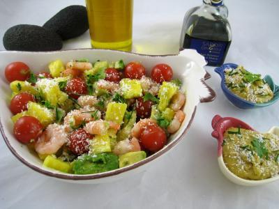 Image : recette Salade à l'ananas exotique façon Pierrot