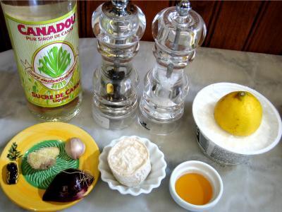 Ingrédients pour la recette : Sauce ricotta au miel