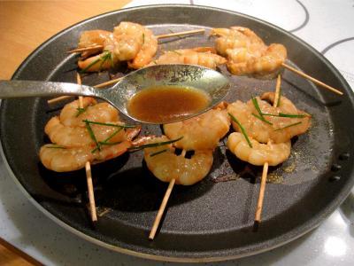 Crevettes façon Pékinoise - 6.1