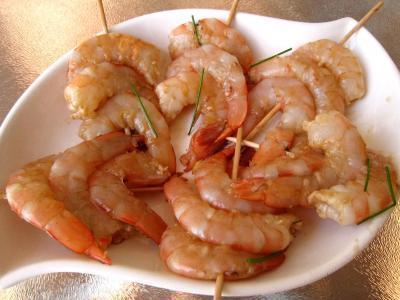 Crevettes façon Pékinoise - 5.1