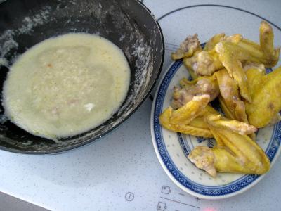 Ailes de poulet aux nouilles croustillantes - 6.1