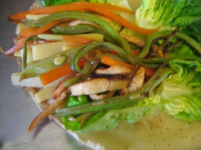 Crêpes chinoises aux légumes - 11.2