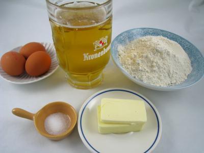 Ingrédients pour la recette : Crêpes à la bière