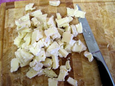 Crêpes au camembert et au jambon - 1.2