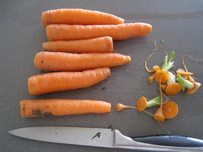 Ailes de raie aux carottes et aux bettes - 4.2