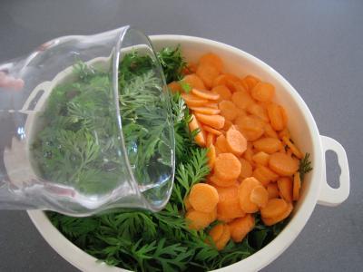 Ailes de raie aux carottes et aux bettes - 6.4
