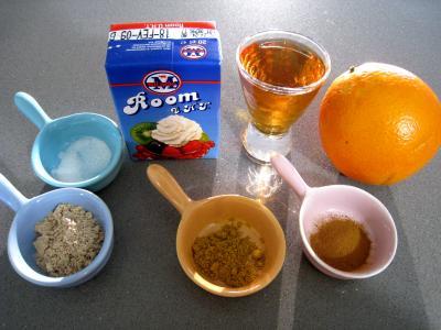 Ingrédients pour la recette : Sauce à l'orange aux épices