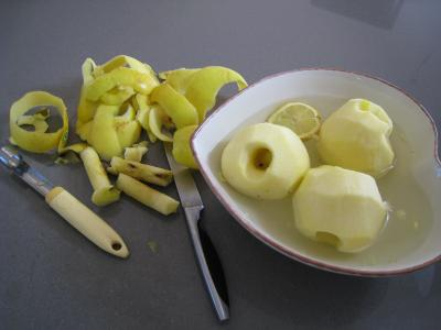 Apple crumble aux framboises et aux pommes - 2.2