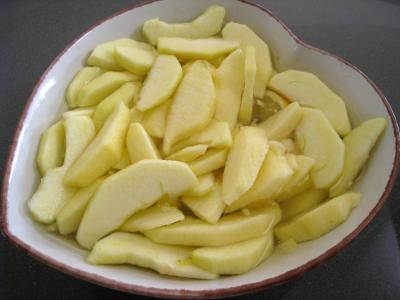 Apple crumble aux framboises et aux pommes - 3.2