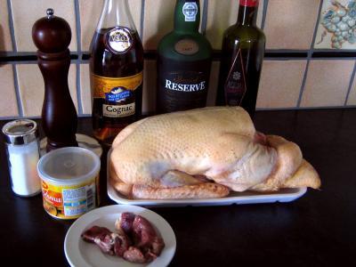 Ingrédients pour la recette : Canard et sa sauce au foie