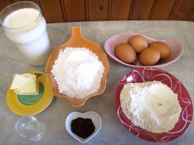 Ingrédients pour la recette : Cannelés mini