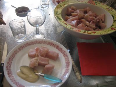 Fondue à l'espadon et sa sauce au citron et au marsala - 8.3