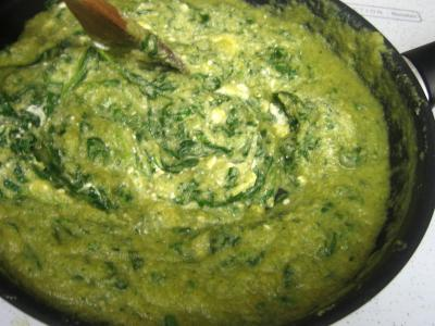 Cassolettes d'oeufs aux restes de purée de brocolis - 3.2
