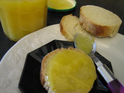 Recette Lemon curd aux épices