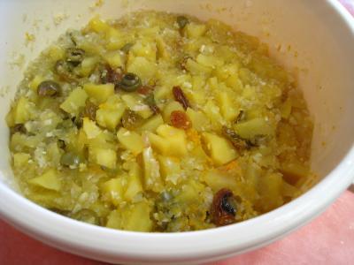 Chutney aux pommes - 12.4