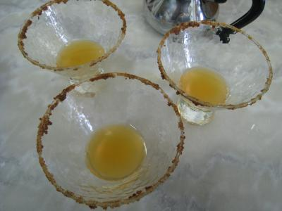 Cocktail au thé, au Bourbon et à la menthe - 5.4