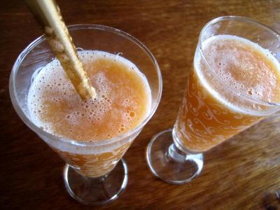 Cocktail de melon au pineau des Charentes - 3.4