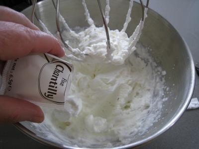 Sauce mayonnaise chantilly - 7.3