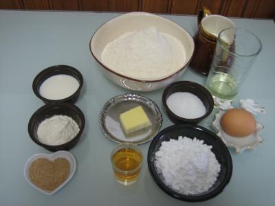 Ingrédients pour la recette : Oreillettes façon Corse