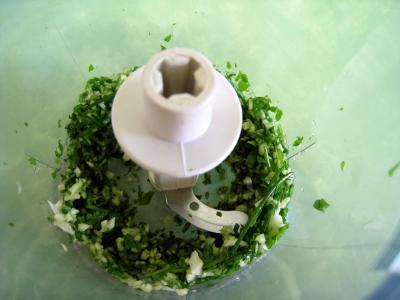 Colin et espadon avec sauce aux fines herbes - 5.1