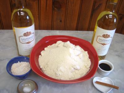 Ingrédients pour la recette : Confit de vin au Sauternes