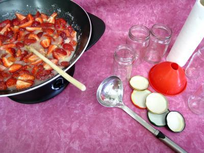 Confiture de fraises à la crème de coco - 4.2