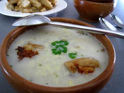 Soupe de poulet au Pécorino à l'italienne - 12.3