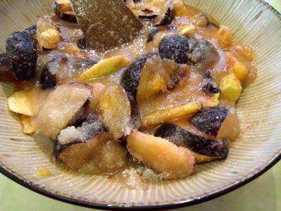Confiture de prunes et de pommes à la crème - 5.2