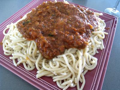 Pâtes spaghettis à la bolognaise - 16.2